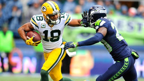 1 -- WR Randall Cobb, Packers