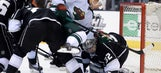 Kings edged by Wild in shootout
