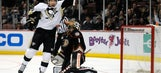Ducks fall short to Penguins in shootout