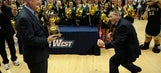 Wacky press conference caps off wild night for Cal Poly