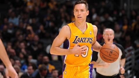 Steve Nash, Lakers