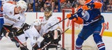 Oilers deal Ducks setback in quest for Pacific title