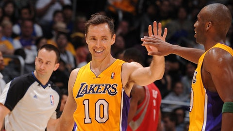Worst of 2012: Steve Nash, PG, Lakers