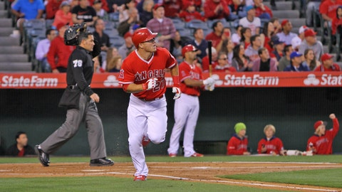 Angels walk-off with win