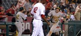 Mike Trout's clutch HR not enough as Angels downed by A's in extras