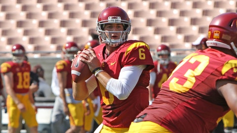 USC Spring Game action