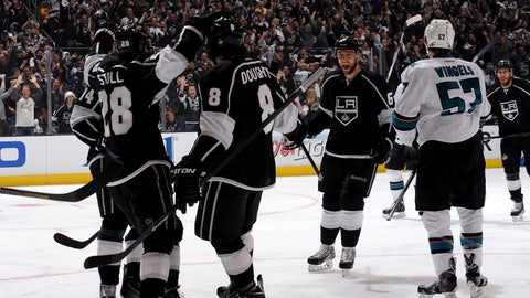 First round, Game 6: Kings 4, Sharks 1
