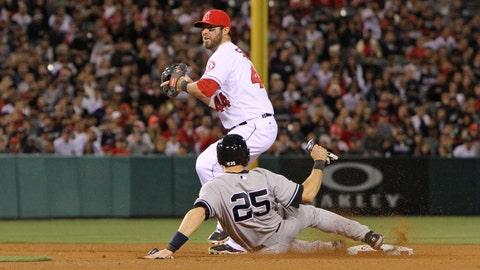 Gallery: Angels beat Yankees