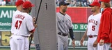 Angels' farewell gifts to Jeter — a paddleboard and first homer
