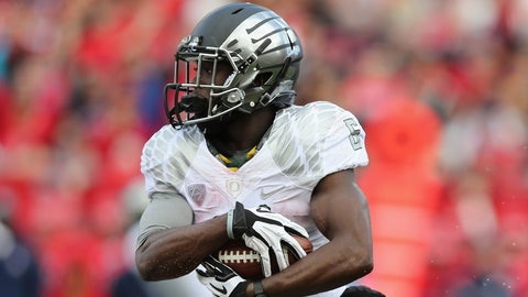 Oregon RB De'Anthony Thomas; Chiefs (4th Round, 124th overall)