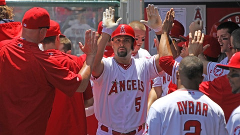 Pujols is en fuego