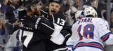 Williams puts LA Kings past Rangers in OT opener