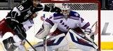 Henrik Lundqvist playing like he belongs in Stanley Cup Final