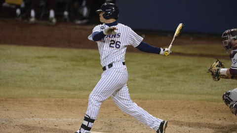 Cal State Fullerton 1B/RHP J.D. Davis; Astros (3rd Round, 75th overall)