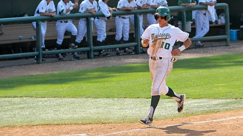 Cal Poly RF Nick Torres; Padres (4th Round, 117th overall)