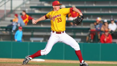 USC RHP Wyatt Strahan; Reds (3rd Round, 94th overall)