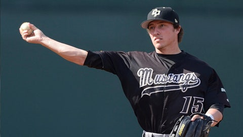 Cal Poly 3B Jimmy Allen; Dodgers (24th Round, 729th overall)