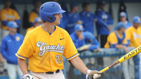 UC Santa Barbara 3B Joey Epperson; Padres (13th Round, 387th overall)