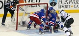 'Puck luck' shifts; Kings look to finish Rangers in L.A.