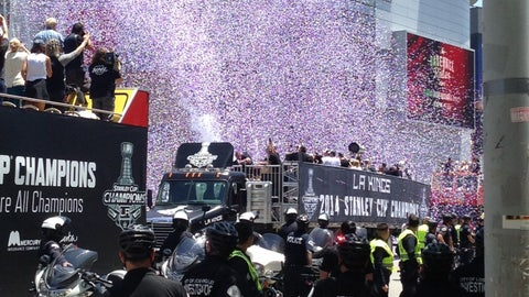 Gallery: Kings' Stanley Cup championship parade