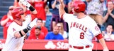 Angels sweep Rangers with help of new MLB rule