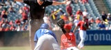 Angels' win streak snapped in 8-6 loss to Royals