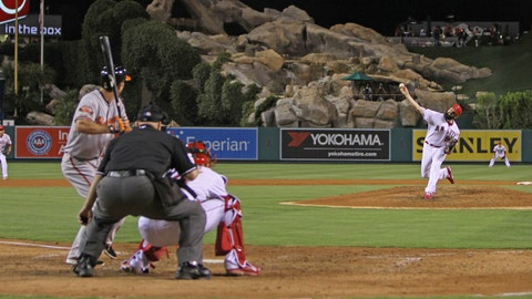 Angels fall vs. Orioles