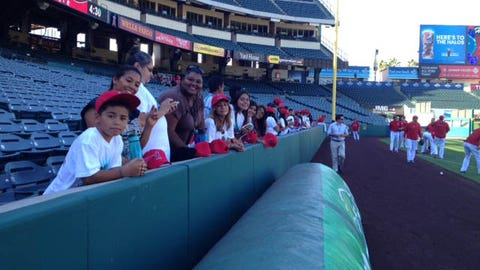 Local Kids Enjoy Day at the Big A