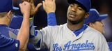 Puig displays fundamentals, excitement in center field