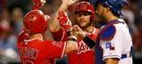 Kole Calhoun's big night leads Angels past Rangers