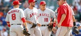 Rangers rally for two runs in ninth inning to beat Angels