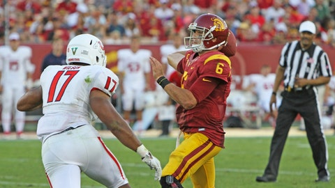 Gallery: Trojans start fast in Sarkisian debut