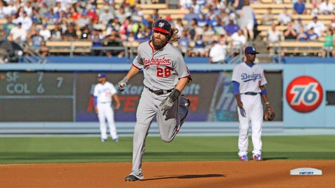 Gallery: Nationals defeat Dodgers