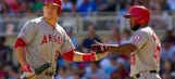 Trout hits 32nd homer as Angels sweep Twins, 14-4