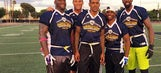 Clippers participate in Athletes vs. Cancer Celebrity Flag Football Game