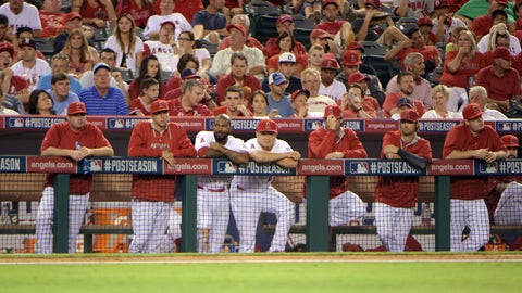 TOO LONG LAYOFF BEFORE PLAYOFFS and Angels didn't handle well