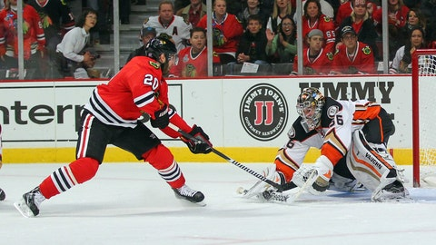 When you opened negotiations, did you ever even think it was possible you wouldn't re-sign with the Blackhawks?