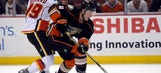 Ducks' win over Flames gives coach Boudreau some optimism