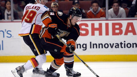 Flames vs. Ducks: Defensemen