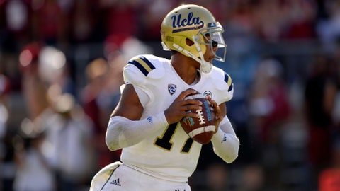 Intangible: UCLA QB Brett Hundley