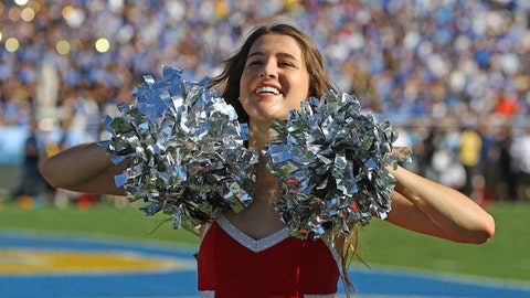 Stanford cheerleader