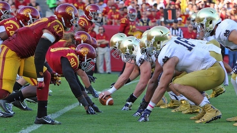 2. USC at Notre Dame (Oct. 17)