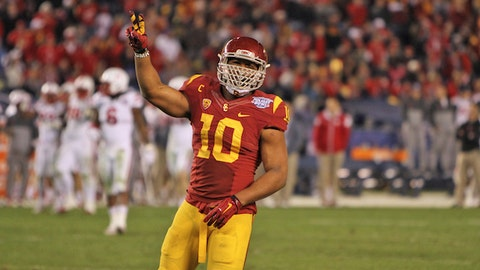 USC LB Hayes Pullard; Browns (7th Round, 219th overall)