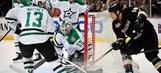 Dan Ellis, Stars shut out NHL-leading Ducks 2-0