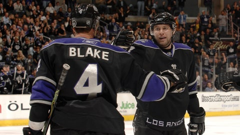 Rob Blake playoff accomplishments with L.A. Kings