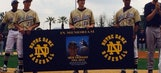 Nick Fagnano honored in touching pregame ceremony at Notre Dame High
