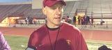 New USC OL coach wants unit to slim down