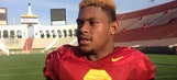 USC WR JuJu Smith embracing new role and new hair