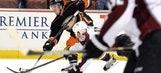 Ducks overcome third-straight third-period deficit for OT win