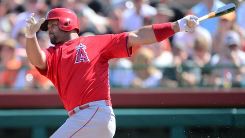 Albert Pujols is healthy again and looking like the old Pujols